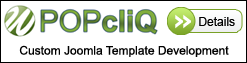 POPcliQ - Custom Joomla Template Development